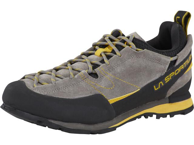 la sportiva boulder x shoes men yellow grey at. Black Bedroom Furniture Sets. Home Design Ideas